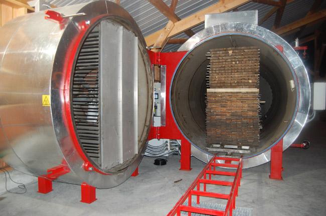 Lignivalys la ma trise du bois thermotrait fabrications for Vers de bois traitement